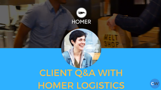 Client Q&A With Homer Logistics