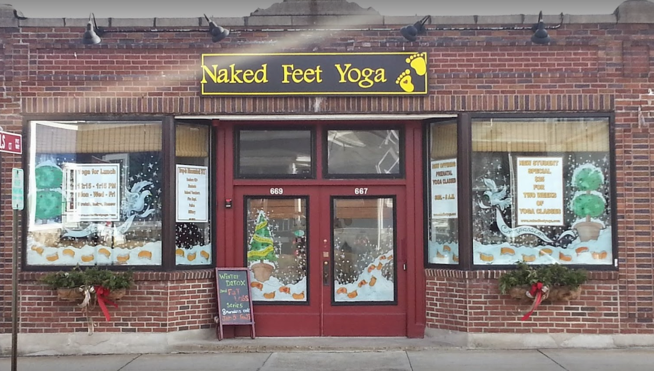 Naked Feet Yoga