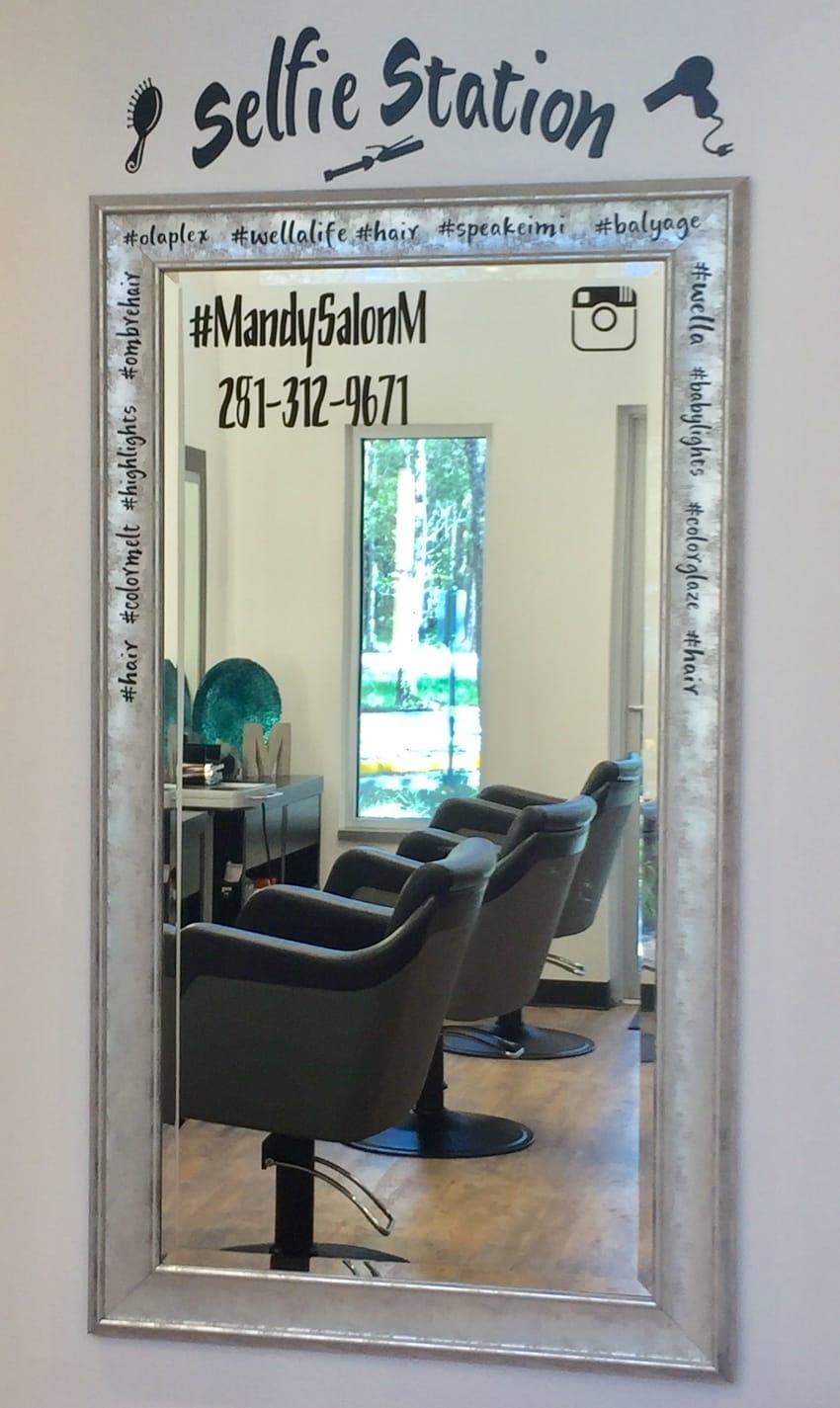 selfie station beauty salons